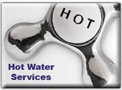 Our plumbing contractors can cover your hot water needs